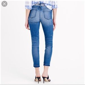 J.crew lookout high rise crop jeans